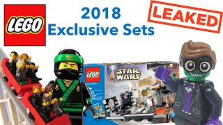 Lego 2018 Exclusive Direct To Consumer Set Information LEAKED