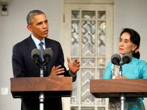 US eases economic sanctions on Myanmar