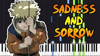 Sadness and Sorrow - Naruto [Piano Tutorial] (Synthesia)