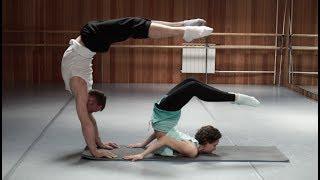Балерина VS Эквилибрист - ТРЕНИРОВКА КОРСЕТНЫХ МЫШЦ. Спина, пресс, руки.