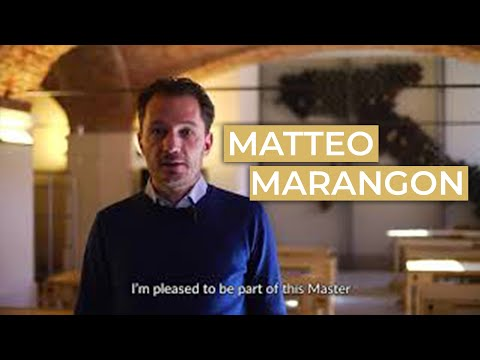 Matteo Marangon And The Master In Wine Culture, Communication & Managment