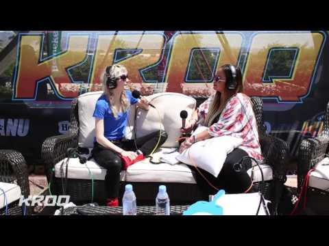 Nicole Alvarez Interviews Grimes at the KROQ Coachella House
