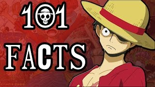 101 One Piece Facts You Probably Didn't Know! (101 Facts)