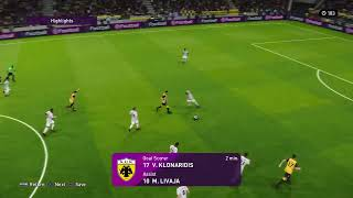 Live PES2020 AEK vs Nice Highlights