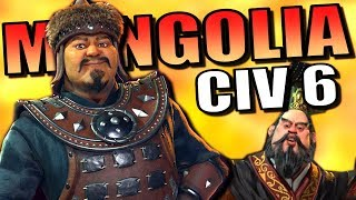 Video Mongolian Dark Age! [Civ 6] | Civilization 6 (Mongolia: Rise and Fall) download MP3, 3GP, MP4, WEBM, AVI, FLV Maret 2018