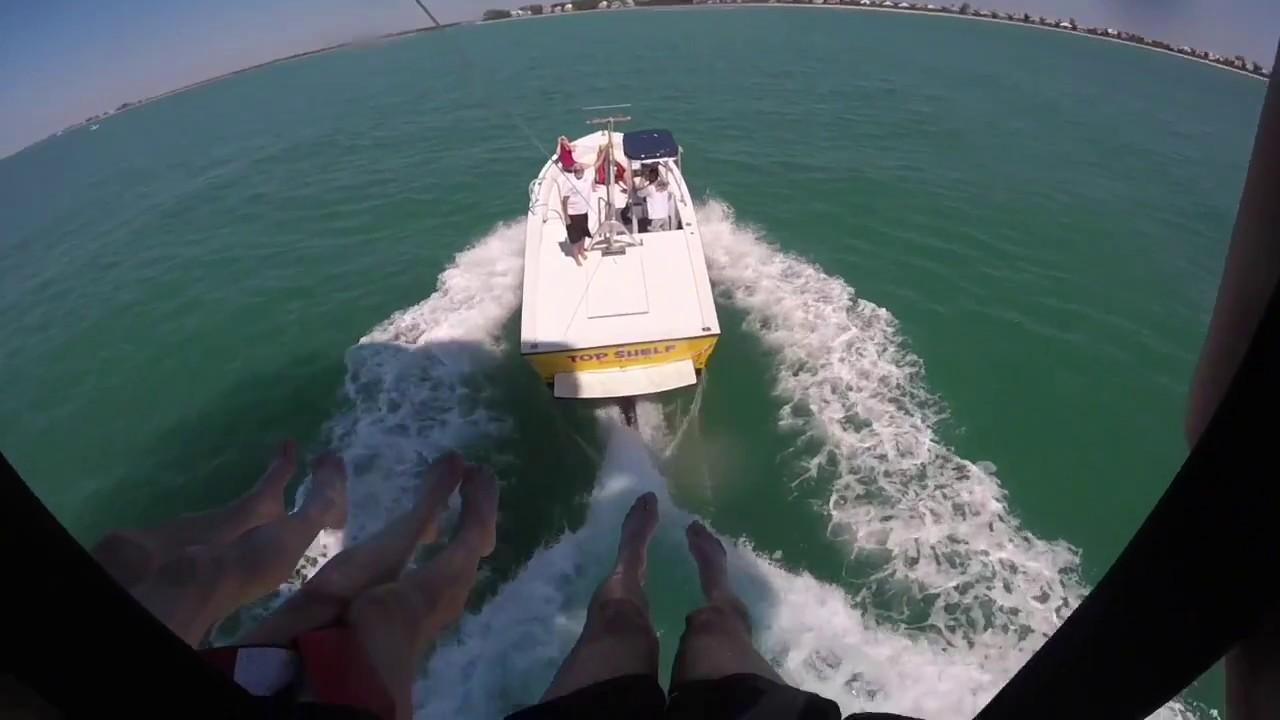 Parasailing Englewood, FL - YouTube