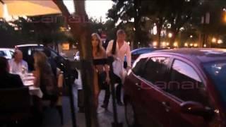 Elsa Pataky y Chris Hemsworth con India Rose