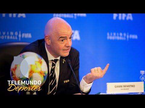 Gianni Infantino anuncia un Mundial de Clubes de 24 equipos | Telemundo Deportes