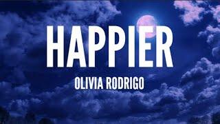 Download lagu Olivia Rodrigo - happier (Lyrics)