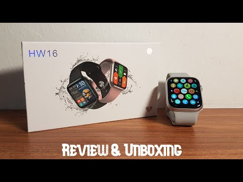 HW16 Fitness Smartwatch - Review & Unboxing