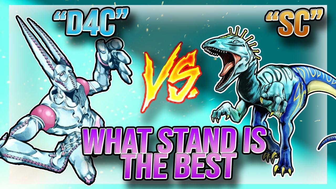 SCARRY MONSTERS VS D4C LOVE TRAIN!!! (STAND OFF) | YBA | Ordinary Potato