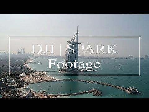 DJI Spark | Footage | Dubai Jumeirah Beach