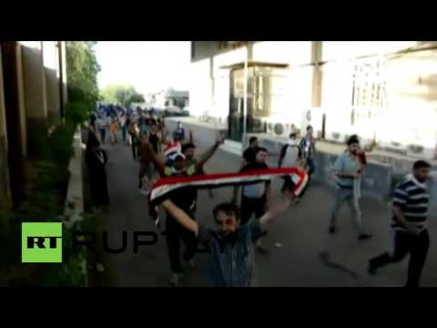 Iraq: Security forces fire on protesters storming Baghdad's Green Zone