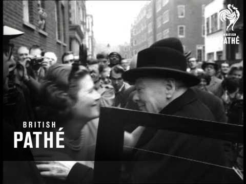 London - Happy Birthday Lady Churchill (1963)