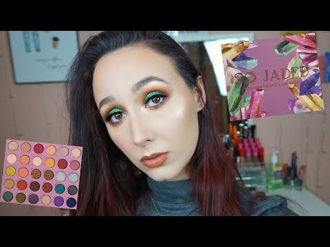 KATHLEEN LIGHTS X COLOURPOP SO JADED PALETTE TUTORIAL & REVIEW | FIRST IMPRESSIONS thumbnail