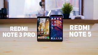 Как изменились Xiaomi за 2 года? Redmi Note 3 Pro против Redmi Note 5.