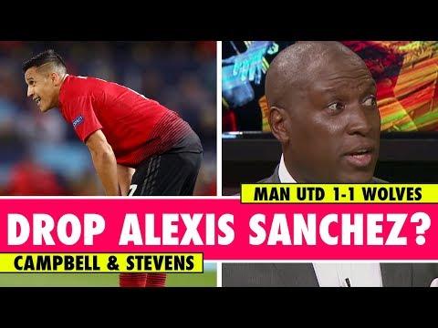 Time to drop Alexis Sanchez?   Man Utd 1-1 Wolves   Astro SuperSport