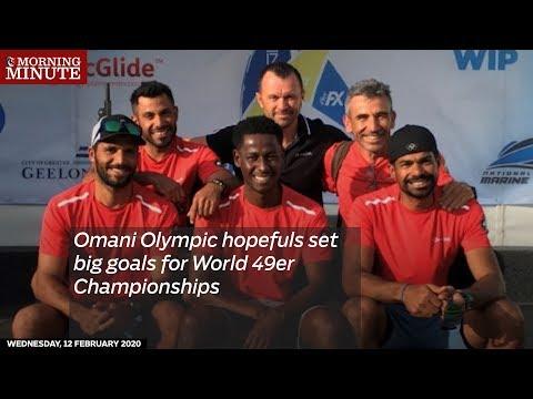 Omani Olympic Hopefuls Set Big Goals For World 49er Championships