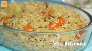 Quick Vegetable Biryani - Veg Biryani in Pressure Cooker