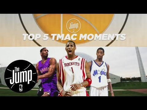 Tracy McGrady shares top 5 moments of NBA career | The Jump | ESPN