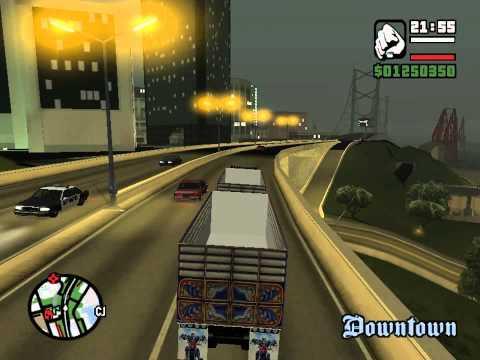 HINO 500 พ่วง GTA San Andreas