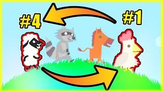 OSTATNI BĘDĄ PIERWSZYMI CHALLENGE | Ultimate Chicken Horse [#128] | BLADII