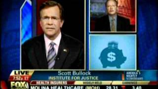 "Fox Business: IJ's Scott Bullock discusses ""policing for profit"" with David Asman"