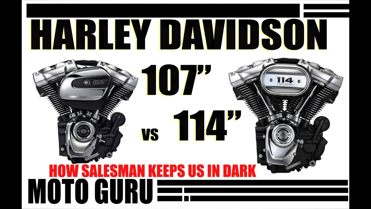 Harley Davidson 107 vs 114, Milwaukee 8 engine comparison ...