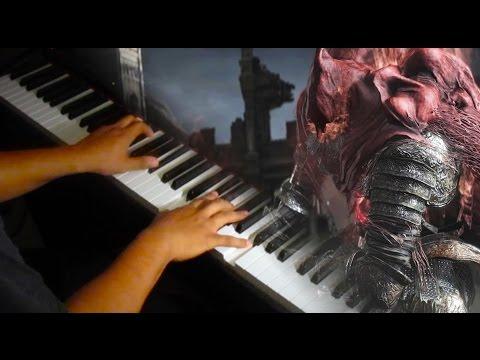 Slave Knight Gael Dark Souls III on Piano