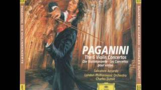Salvatore Accardo Nicolò Paganini  The Violin Concerto No 4 in D minor Allegro maestoso Part 1