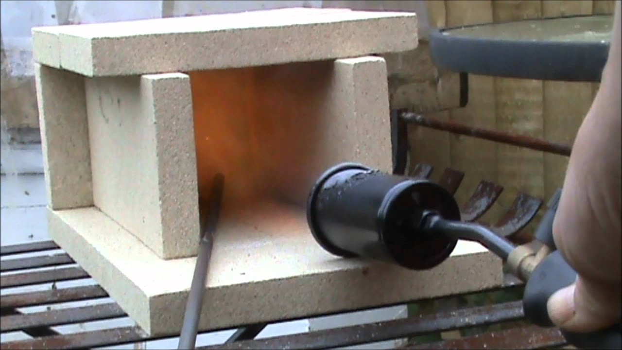 how to make a gas forge. gas forge initial test how to make a 0