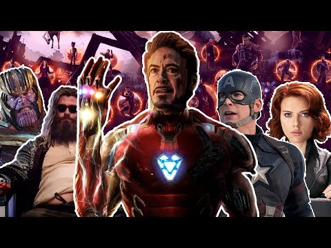 AVENGERS ENDGAME THE MUSICAL - Parody Song(Version Realistic)V1.0
