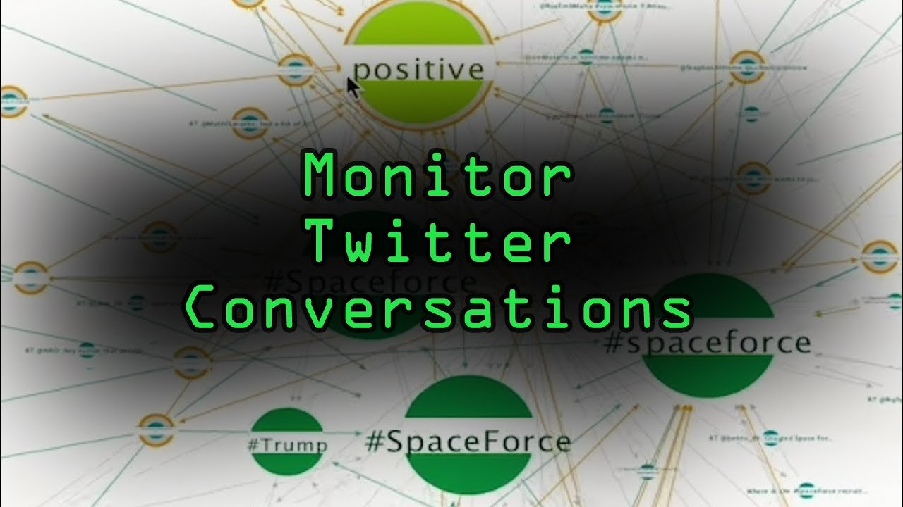How to Monitor Live Twitter Discussions with Maltego for Disinformation Attacks