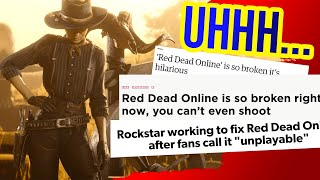 Rockstar Did WHAT?! Today's NEW Red Dead Redemption 2 Online Update