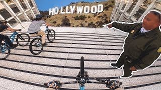 URBAN MOUNTAIN BIKE STREET TOUR LOS ANGELES!