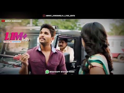 Whatsapp Status Video   Allu Arjun   Stylish Star   Dialogue  