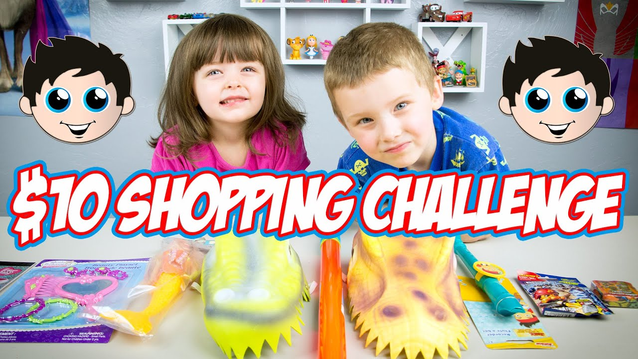 10 Shopping Challenge