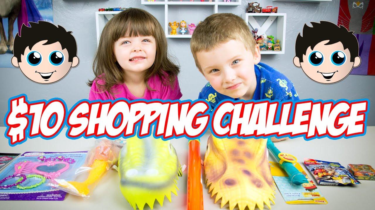 10 Shopping Challenge