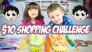 $10 Shopping Challenge | Dollar Tree Toys by Kinder Playtime