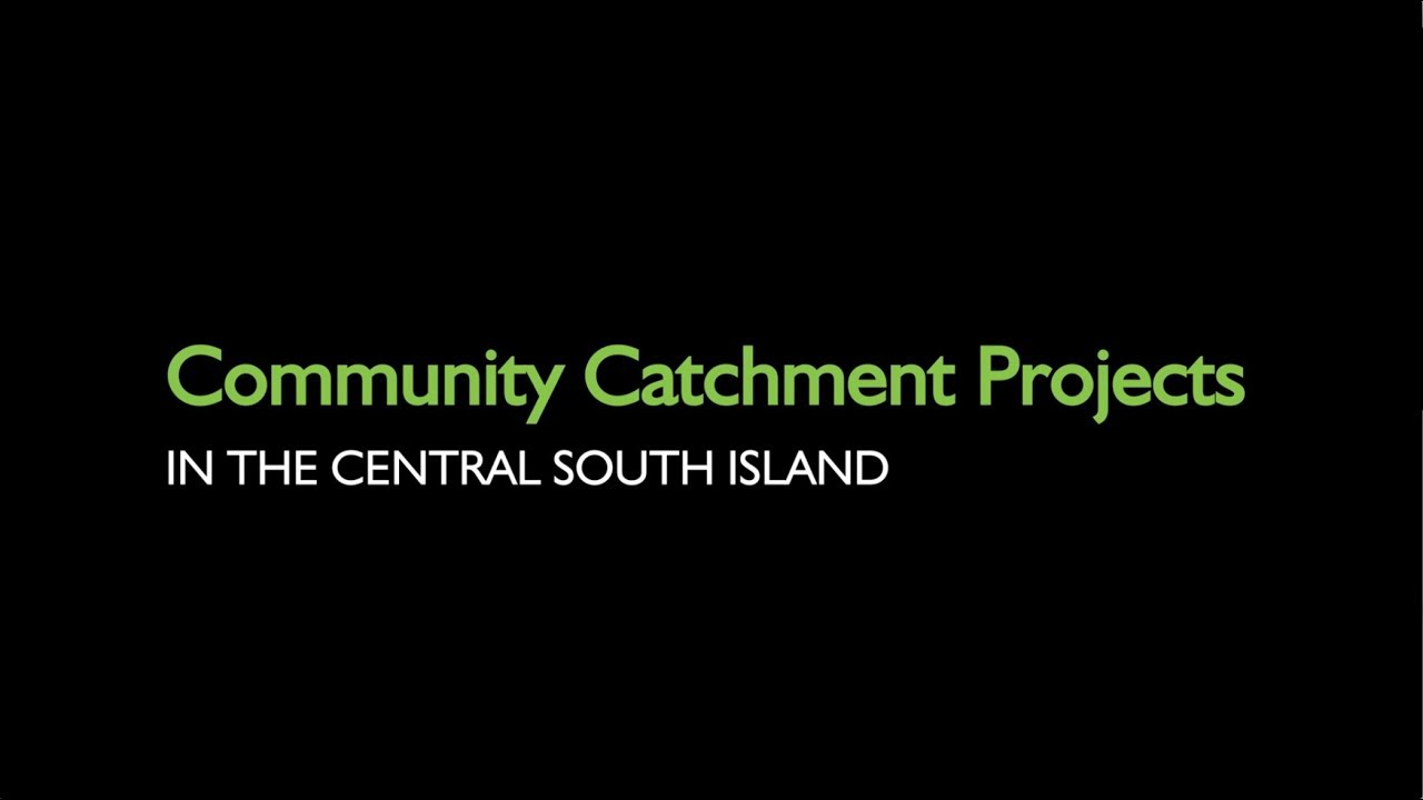 Water Catchment Projects in the Central South Island