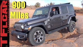 Phoenix to Moab to Denver: First On and Off-Road New Wrangler Road Trip