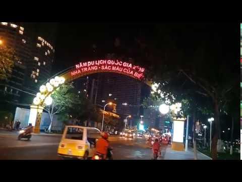 Cận Cảnh Những Khách Sạn Trên Đường Trần Phú Nha Trang Vào Ban Đêm