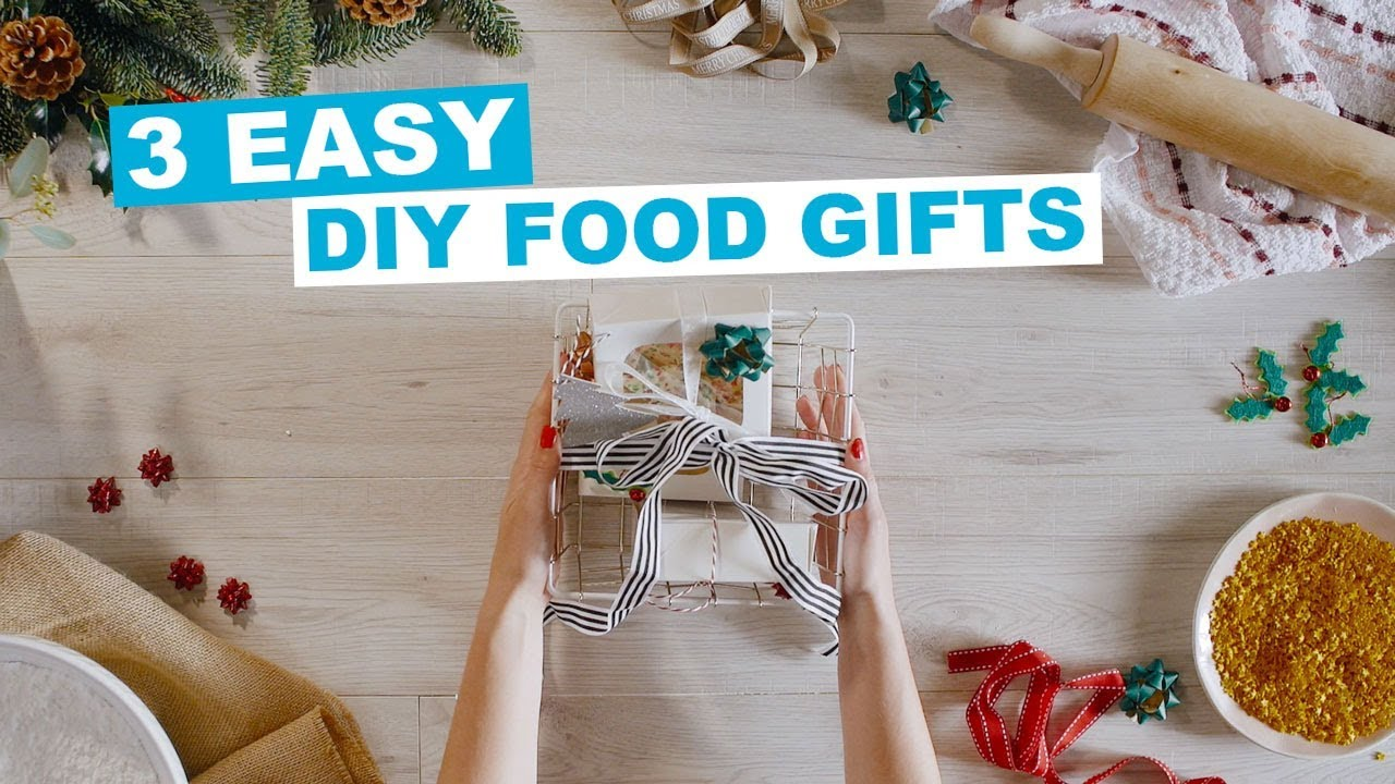 PRIMARK | 3 DIY Food Gift Recipes - YouTube