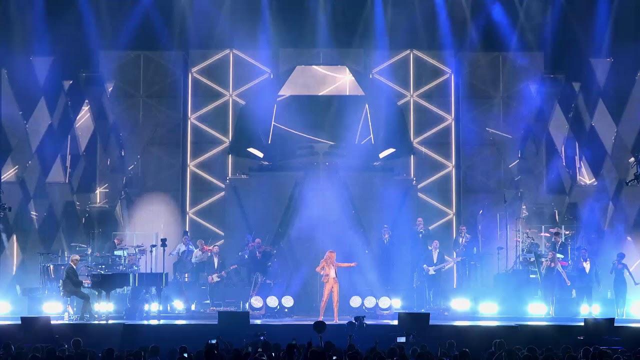 Celine Dion Arena Zagreb 22 05 2021 Youtube