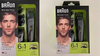 BİM Ürün İnceleme | Braun MGK3021 6 in 1 Multi Grooming Erkek Saç ve Sakal Tıraş Makinesi yorumları