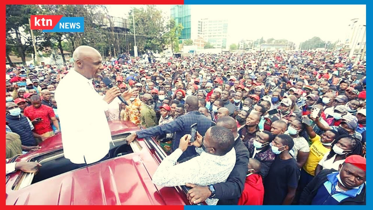 Download Maelfu wa wakaazi wa kaunti ya Kericho wajitokeza kumlaki Seneta Moi alipokuwa akizuru eneo hilo