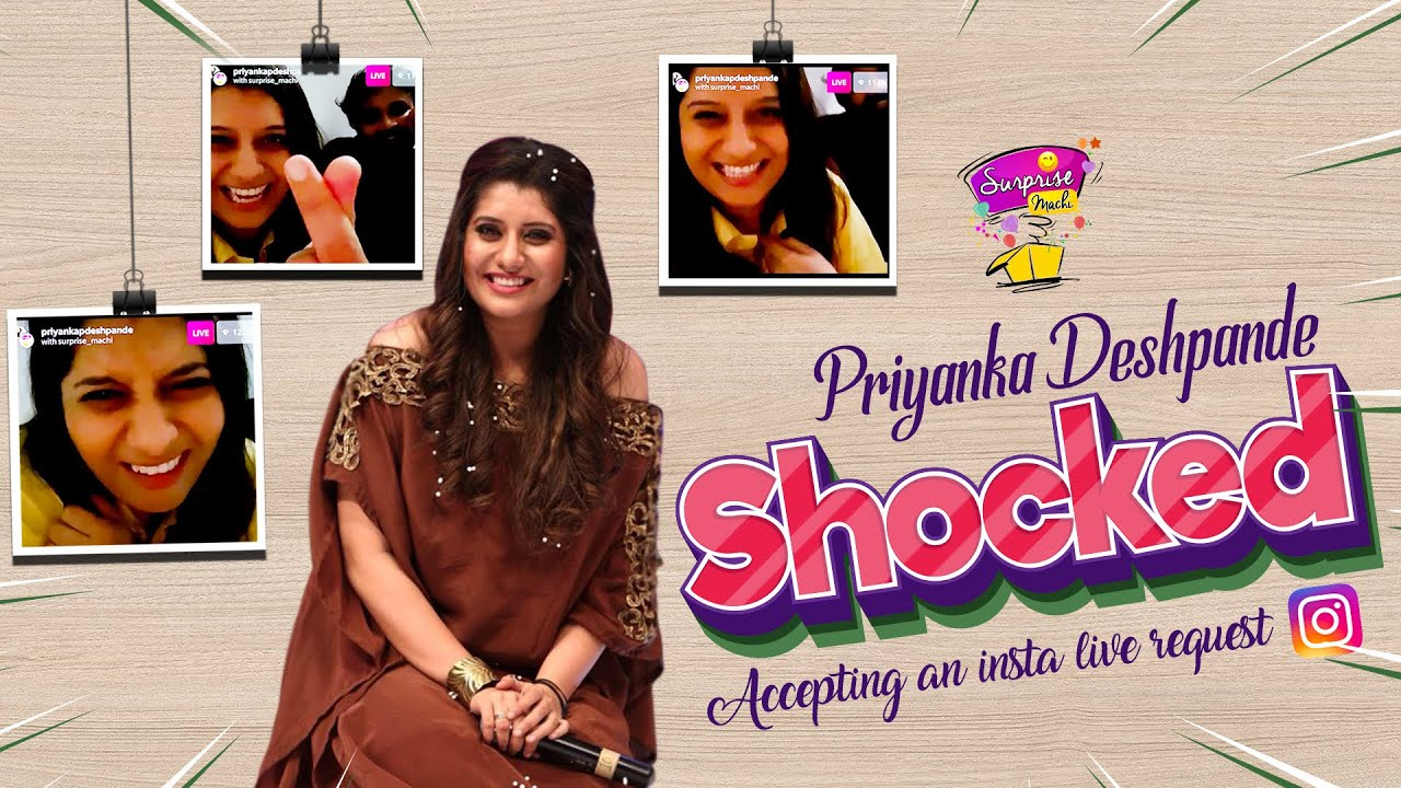 Priyanka Deshpande Got Surprised | Insta Live with KPY Dheena | Surprise Machi