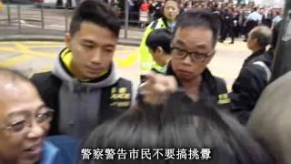 [交警有禮] 警察情緒失控大力推路人 再叫人勿挑釁