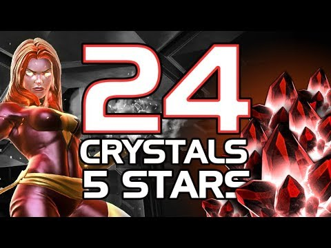 24 CRYSTALS 5 STARS mega apertura    Marvel Contest of Champions