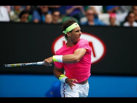 Kevin Anderson v Rafael Nadal highlights (4R) - Australian Open 2015